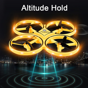 Image 2 - NEW Mini Drone Wristband Control Infrared Obstacle Avoidance Hand Control Altitude Hold 2.4G Quadcopter for Kids Toy Gift ZF04