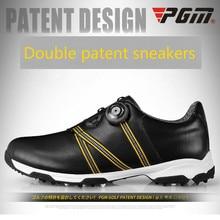 PGM/обувь для гольфа; дышащая водонепроницаемая Спортивная обувь; летние Нескользящие кроссовки для мужчин; обувь с пряжкой; большие размеры