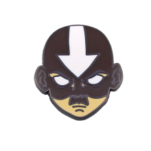 Avatar The Last Airbender 90s funny cartoon backpack clothes diy decoration Enamel Brooches badge tie collar pins