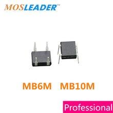 Mosleader DIP MB6M MB10M DIP4 1000 pcs 0.5A 1KV 500mA 600 v 1000 v Folha de Dados dentro de Alta qualidade