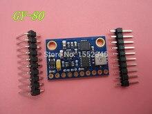 Бесплатная Доставка 1 ШТ. GY-80 10DOF Девять Ось Отношение L3G4200D ADXL345 HMC5883L BMP085 Модуль GY-80
