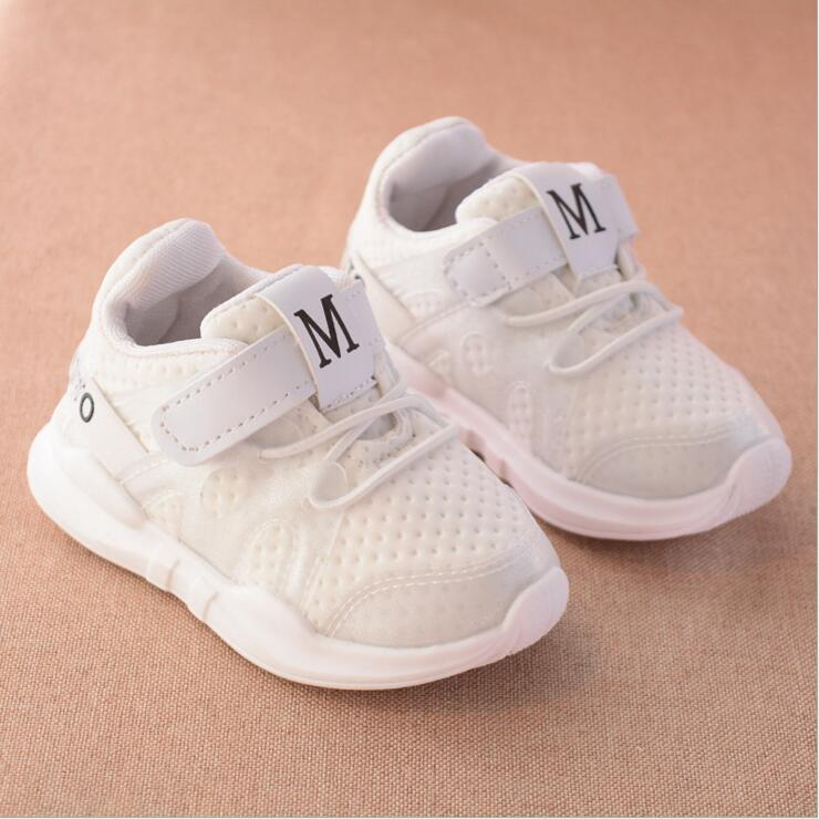 Spring And Autumn Fashion Soft Toddler Children's Sports Shoes Girls Boys Shoes Mesh Running Casual Shoes Children