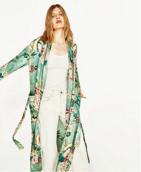 HTB1HlJgQXXXXXcLXXXXq6xXFXXXd - Ethnic Flower Print with sashes Kimono Shirt Retro Tops blusas