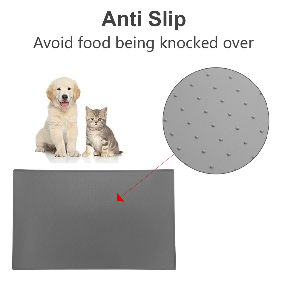bowl com wipe cute pvc on from placemat colorful mats dish food water home item pet pad cat bed garden aliexpress clean mat dog feed puppy feeding in