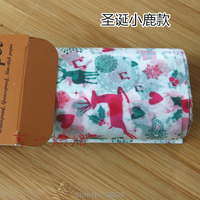 50pcs Wax Paper Christmas Gift Wrapping Paper Food Oilpaper Waterproof Greaseproof Baking Paper Handmade Soap Packaging