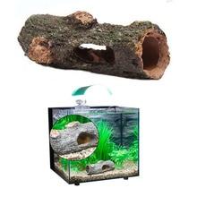 ФОТО newly aquarium ornament hollow trunk simulation tree log wood polyresin landscape fish tank decoration high quality 9