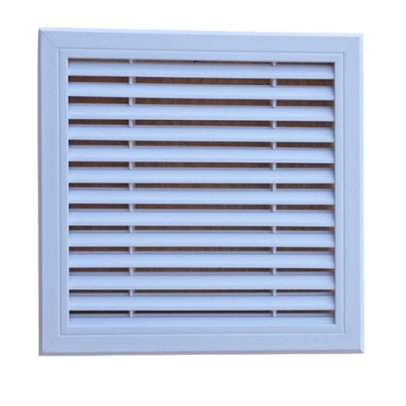 Aluminum vent Perforated Sheet 30x30CM Central air grille ventilation cover Wall Ceiling shutters repair port ventilation system