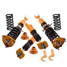 Coilover Suspension for Nissan Infiniti G35 350 Z Roadster Z33 Coupe Convertible for 2003 2007 G35 Coupe / 2003 2009 350Z Adj.