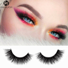 HaHaLash luxury design 6D/3D Mink Eyelashes high quality 100% natural mink made by hand 1 pair in plastic box A/D series