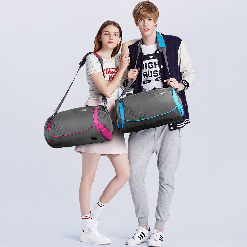 Accessories & Parts Roadfisher Women Men Handbag Youth Sport Gym Training Bag Swimming Dance Barrel Shoes Bag Carry Weekend Travel Luggage Case