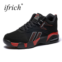 Ifrich Men Running Sneakers Winter Shoes For Men Sports Good Quality Running Shoes For Men Mid