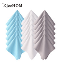 XizeHOM 25 25cm 18pcs Microfiber Lens Cleaning Kit Cleaning Cloth For All Eyeglasses Glasses Tablets LCD