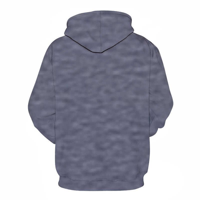מצחיק בעלי החיים חולצות גברים נים Harajuku אימוניות 3D הדפסי סוודר Streetwear מעיל יוניסקס Hoody זרוק ספינה ZOOTOP דוב