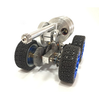External combustion engine small tank model / engine model / micro generator model / steam engine model