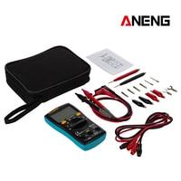 ANENG M10 AN8001 Draagbare LCD Digitale Multimeter 6000 Telt Backlight AC/DC Amperemeter Voltmeter Ohm Meter Teste