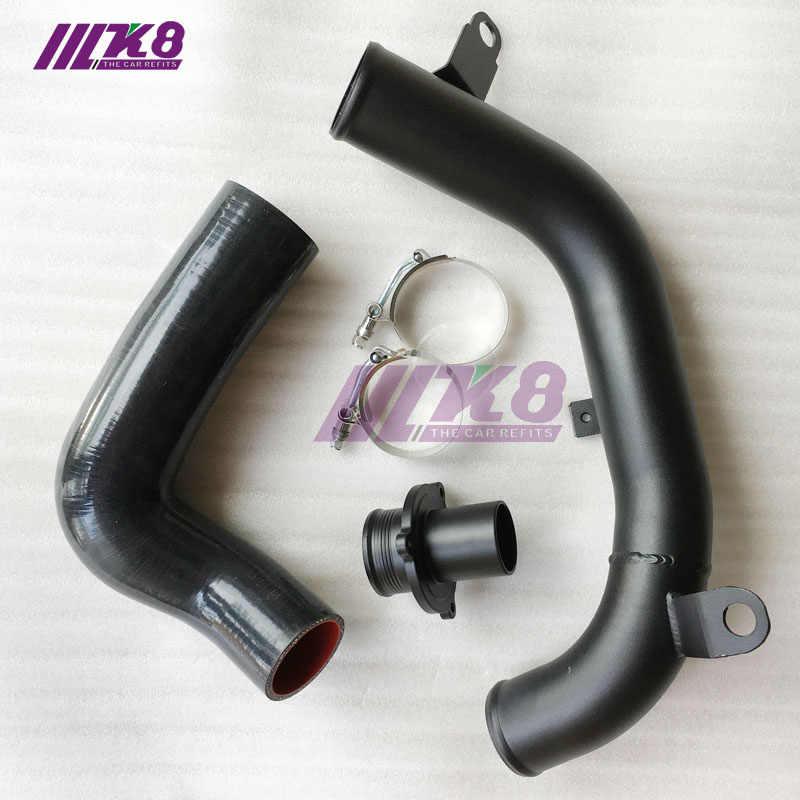 ターボ排出管縦樋。 udi/VW MQB MK7 ゴルフ 7 EA888 1.8T 2.0T TSI A3 S3 キュプラゴルフ GTI TTS MK3 8S