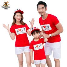 Family Clothing Summer Style Boy Girl T-Shirts Shorts For Mother Daughter Father Son Clothes Family Matching Outfits Family Look summer family look clothes boy t shirts mother