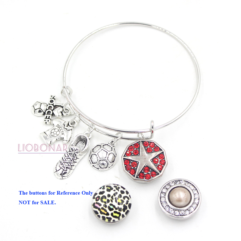 Number 70 Inspired Silver My Sports Number Circle Charm Volleyball Toggle Charm Bracelet