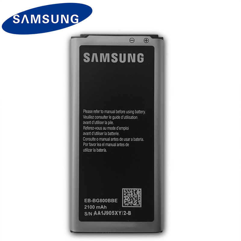 Samsung Original Replacement Phone Battery EB-BG800BBE For Samsung GALAXY S5 Mini SM-G800F G870a G870W EB-BG800CBE 2100mAh NFC