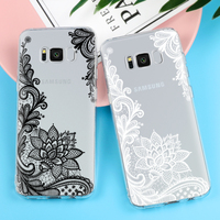 Lace Mandala Vintage Flower For Samsung Galaxy S3 S4 S5 S6 S7 Edge A3 A5 2016