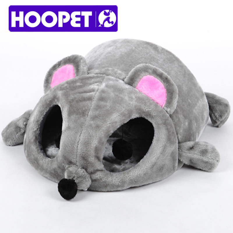 buy hoopet grey mouse shape bed for small cats dogs cave bed removable bottom pet house gift for pet k from reliable