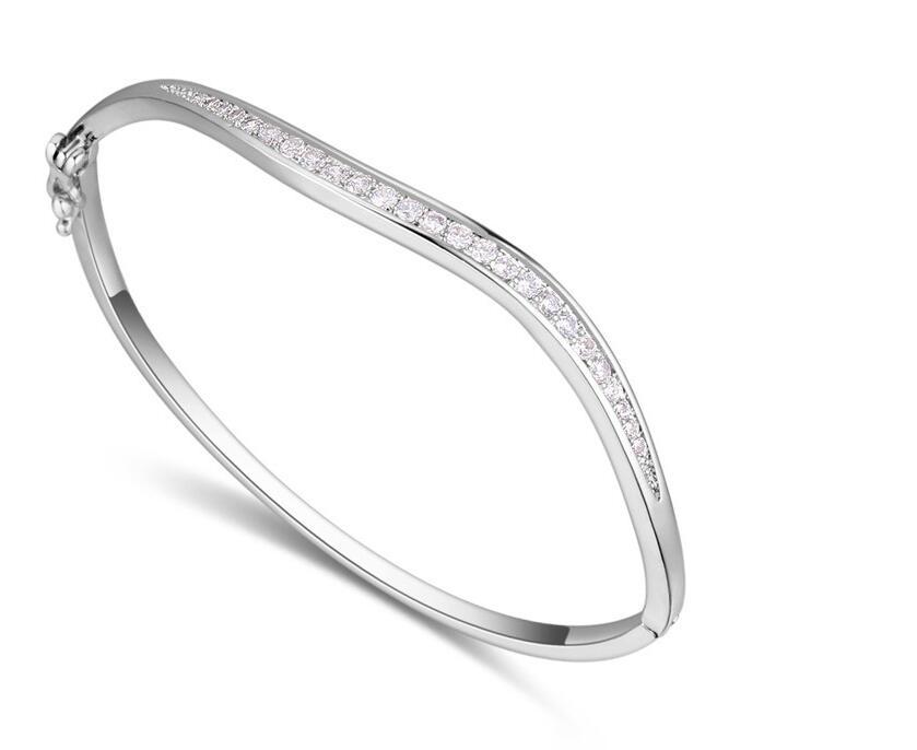 2019 Mode nouveau arrivent argent/or/rose couleur bracelet et bracelet pour Hommes femme bijoux cadeau à choisir MO09