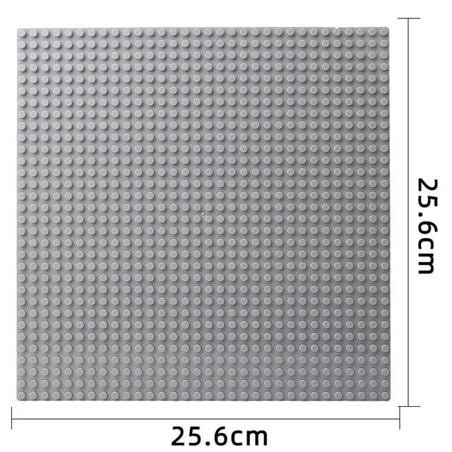 Classic Base Plates Plastic Bricks Legoing City Building Blocks Construction Toys 32*32 Dots 3