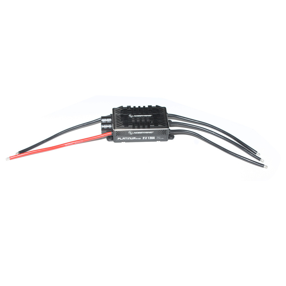 F17828/9 Hobbywing Platinum HV V4 130A BEC / OPTO 5-14S Lipo Empty mold Brushless ESC for RC Drone Helicopter Aircraft