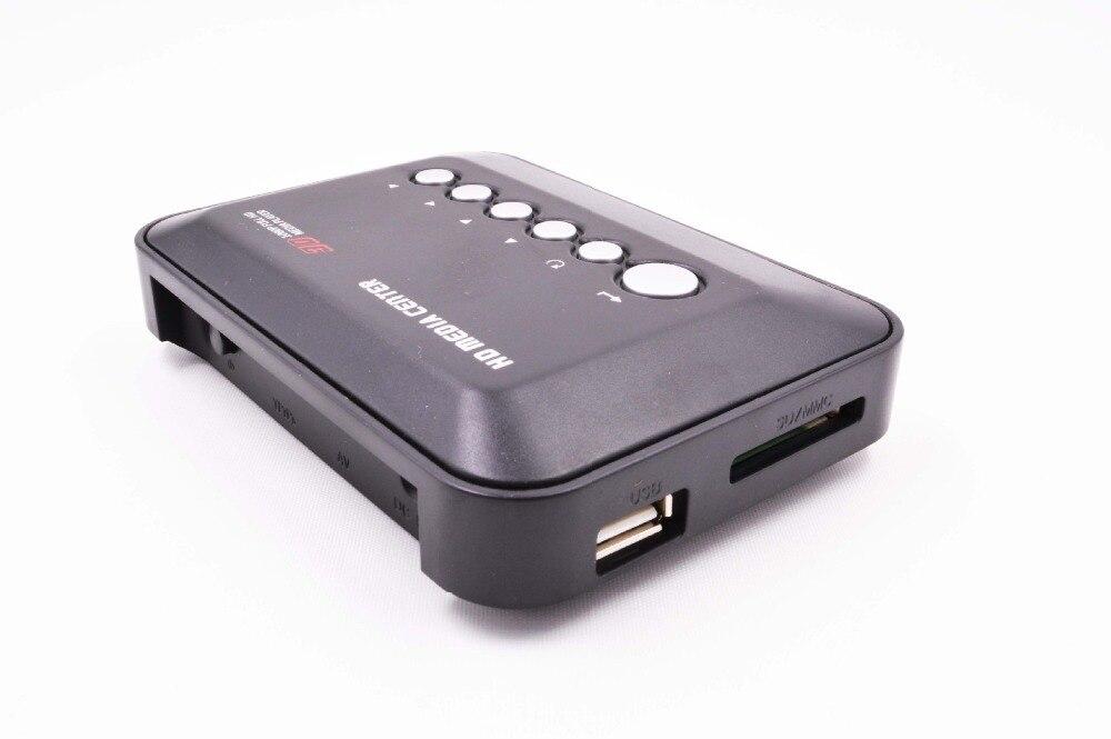 2016 date Mini Full HD1080p H.264 MKV HDD HDMI Media Player Center avec HDMI/AV/VGA/USB/SD/MMC avec télécommande