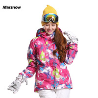 High Quality New Fashion Women S Jackets Outdoor Sports Ski Warm Waterproof Windproof Thermal Breathable Tops