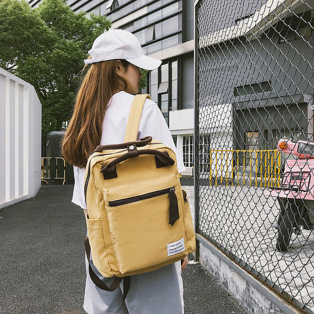 Korean Style School Travel Backpack For Women 1