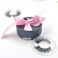 100pcs wholesale eye lahses circular boxes Custom false eyelashes box your own logo Tailor made for small wholesale customers