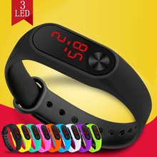 Fashion LED watch boys girls kids children students sport digital watch