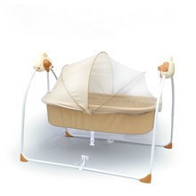 Electric Cradle Bed  Baby Rocking Bed Newborn Sleeping  Intelligent Automatic Lying Down Baby Cot стоимость