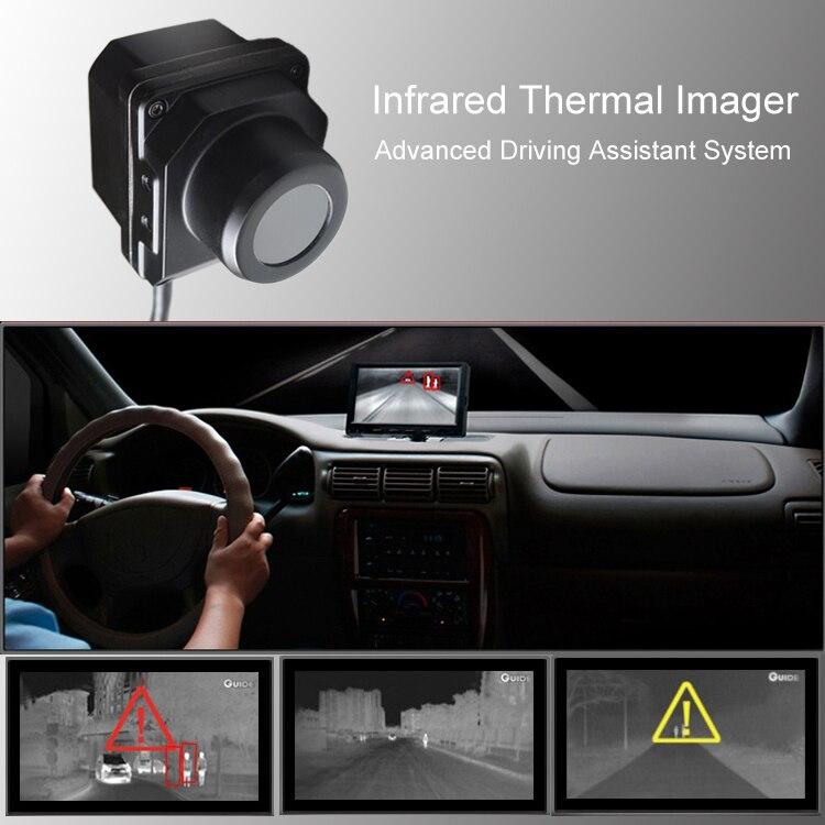 Câmera de imagem térmica infravermelha câmera de visão noturna Carro Veículo avançado