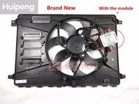Conjunto elétrico do ventilador de refrigeração do radiador com motor para volvo xc60 s60 s60l v60 s80 s80l 31368867