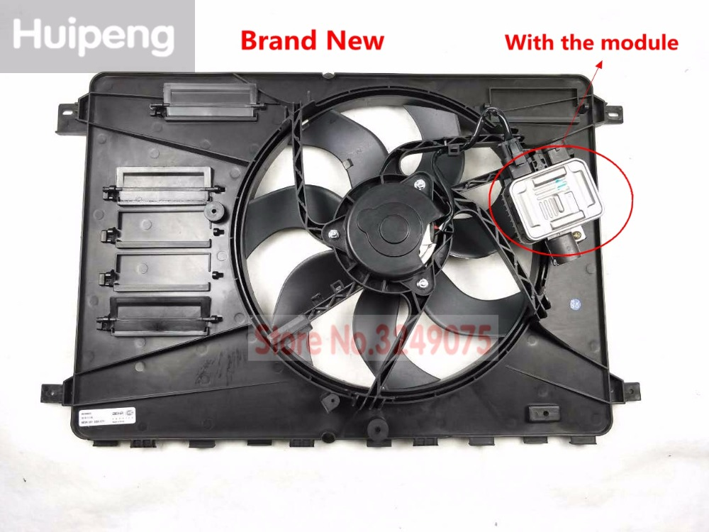 Electric Cooling Fan radiator fan Assembly with motor For Ford Mondeo MK4 GALAXY S-MAX KUGA OEM:6G91-8C607-CF fuel pump module assembly for fitford mondeo iv turnier s max 2 0l 2 3l l4 6g91 9h307 af 2006 2010