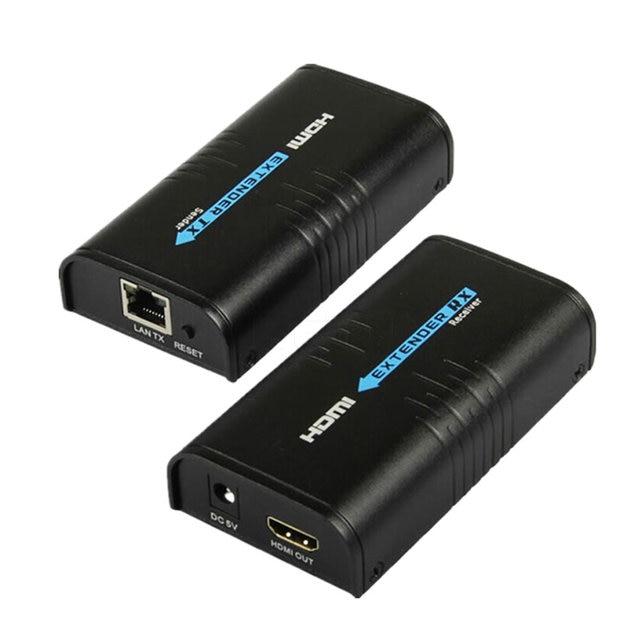100M 1080P Draadloze Hdmi Extender Ethernet Netwerk Zender Hdmi Sender Ontvanger LKV373 Cat5 CAT6 Cat5e Voor RJ45 Tv router