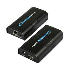 100M 1080P Không Dây Nối Dài HDMI Ethernet Mạng Thiết Bị Phát HDMI Người Gửi Thu LKV373 V4.0 Cat5 CAT6 Cat5e Cho Tivi router