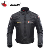 DUHAN Motorcycle Jacket Motorbike Riding Jacket Windproof Motorcycle Full Body Protective Gear Armor Autumn Winter Moto