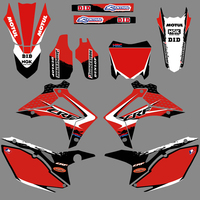NICECNC Team Graphic Background Decal Stickers For Honda CRF250 CRF450 CRF250R CRF450R CRF 250 250R 450 450R 2013 2014 2015 2016