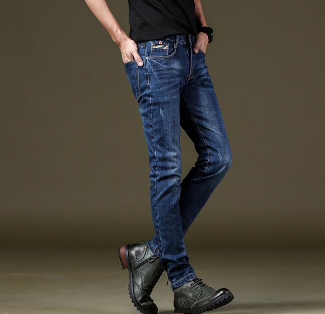 2018 New Arrival Good Quality Men Stretch Jeans On Hot Sales Long Length Free Shipping 2