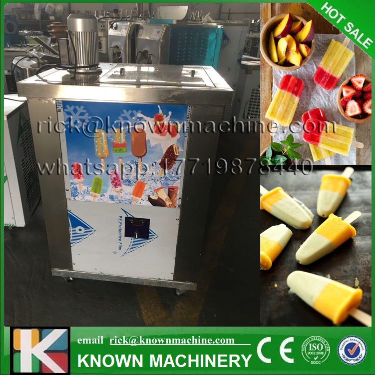 2017 the CE certified stainless steel Competitive price with high quality popsicle machine/ice lolly maker hot on sale good feedback high quality machine for popsicle ice lolly machine