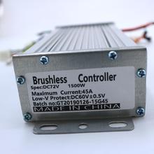 72V 1500W 45Amax BLDC контроллер двигателя 15FET EV Бесщеточный Регулятор скорости