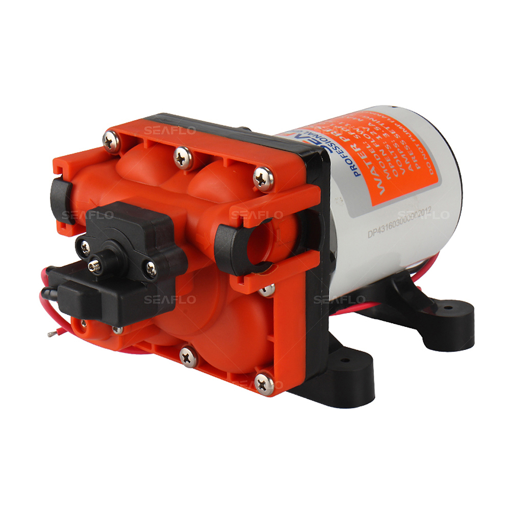 Low Pressure Micro Diaphragm Pump 12v 3 0 GPM 55PSI Water Pump Caravan Marine Yachting