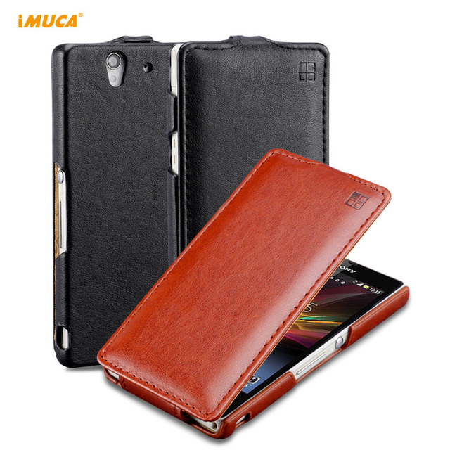 for Sony Xperia z case flip leather cover for Sony xperia z c6603 phone cases L36H L36i c6601 c6602 capa coque iMUCA