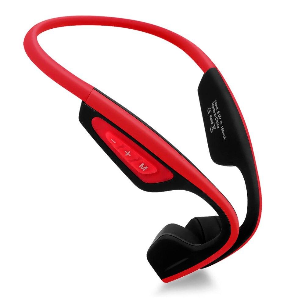 S. Porter LF-19 Conduction Osseuse Casque Sans Fil Stéréo Bluetooth Sport Casque avec mic Pour Courir Vélo Tranning Écouteurs