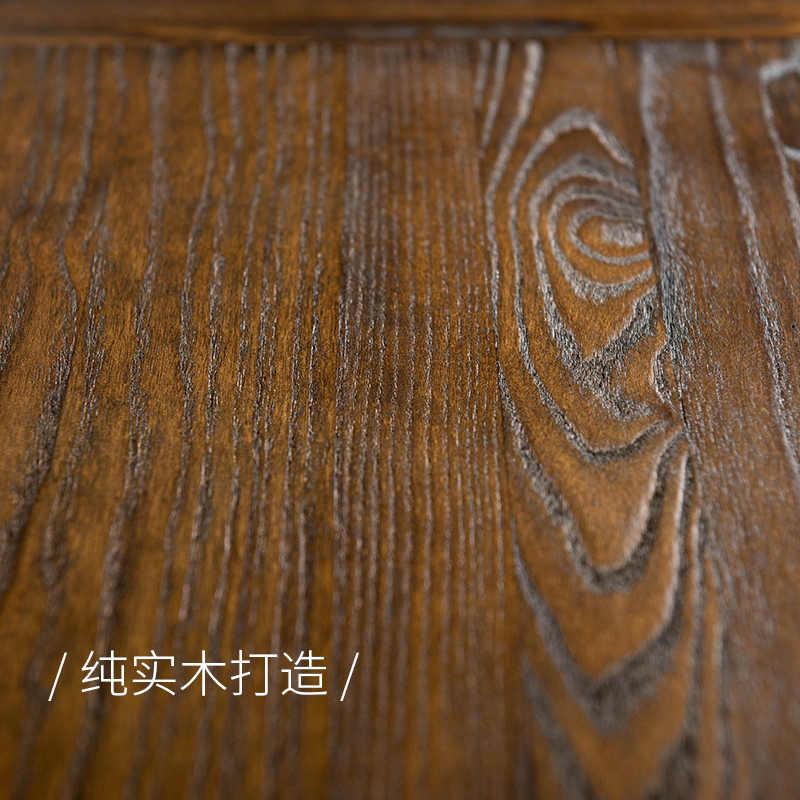 Мода 100% деревянный обеденный стол, винтажный Американский обеденный стол, мебель для гостиной, деревянный стол стойка, mesa обеденный стол mesa comedor