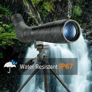 Image 3 - BOBLOV B60HD 20 60X60 Spotting kapsamı su geçirmez BAK4 prizma + telefon dağı ile Tripod hedef çekim için