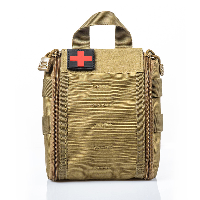 First Aid Kit Outdoor Sports Travel Mountaineer Portable Travel Car Care Storage Box Survival Articles Emergency kit